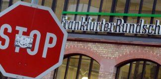Frankfurter Rundschau entlässt hunderte Mitarbeiter