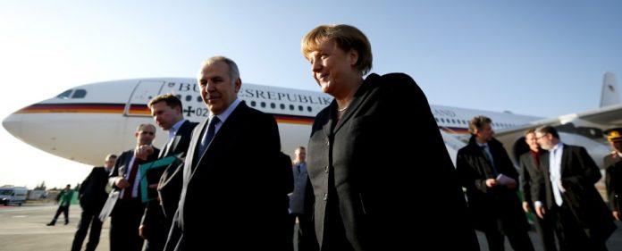 Merkel in der Türkei eingetroffen