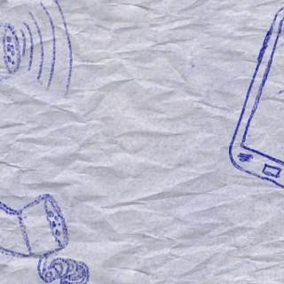 Per Wimpernschlag vom Knochen zum Smartphone - wir leben digital