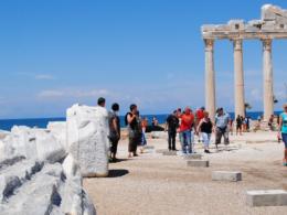 Tourismus in der Türkei eingebrochen