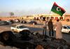 Auch in Libyen schafften es die Menschen nicht, Gaddafi ohne die Hilfe des Westens zu stürzen.