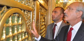 CHP-Chef Kilicdaroglu besuchte im Irak u.a. das Grabmal von Imam Kazim.