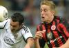 Eintracht Frankfurt bezwang FK Karabakh aus Aserbaidschan und qualifizierte sich für die Europa League.