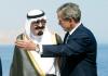 George W. Bush mit arabischen Monarchen und Husni Mubarak.