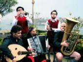 Bayern spielen in Istanbul Volksmusik der Schwarzmeerregion