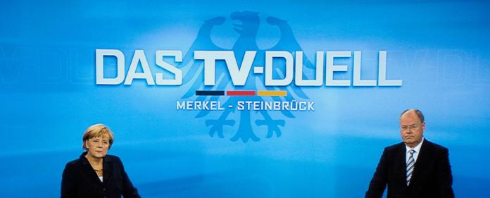 Die Bild-Zeitung erklärte Stefan Raab zum Sieger des TV-Duells zwischen Bundeskanzlerin Angela Merkel (CDU) und ihrem SPD-Herausforderer Peer Steinbrück.