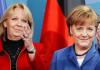 Angela Merkel und Hannelore Kraft während der Vorstellung einer neuen Zwei-Euro-Münze im Januar 2011 in Berlin.