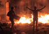 Gezi-Demonstranten aufgenommen im Juni 2013.
