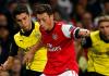 Şahin und Özil im Spiel Arsenal - Dortmund - (dpa)