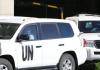 UN-Waffeninspekteure treffen in Damaskus ein.