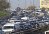 Bayram-Verkehr in Istanbul