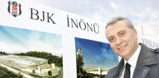 Präsident Fikret Orman verspricht den Fans, dass das neue Beşiktaş-Stadion zur kommenden Spielzeit fertiggestellt sein wird.