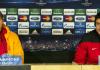 Mancini und Riera bei der Pressekonferenz vor dem Champions Leauge Spiel gegen Real Madrid - iha