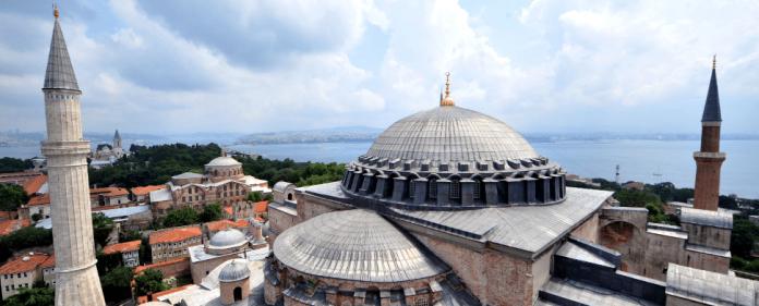 Die Haghia Sophia in Istanbul.