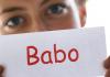 Jugendwort des Jahres: Babo.