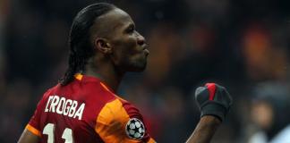 Didier Drogba trifft mit Galatasaray im Champions League Achtelfinale auf seinen Ex-Club Chelsea London.