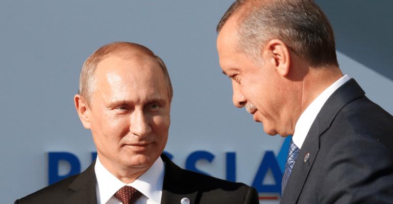 Putin in Ankara