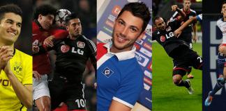 Die Top 5 der türkischstämmigen Fußballer der Bundesliga: Nuri Sahin, Emre Can, Tolgay Arslan, Ömer Toprak und Hakan Calhanoglu