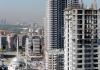 Kräne und Rohbauten stehen am 15.10.2012 auf einer Großbaustelle mit modernen Hochhäusern in einem Geschäftsviertel der türkischen Hauptstadt Ankara - dpa
