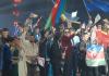 Die Teilnehmer der Türkvizyon 2013 während der Siegerehrung
