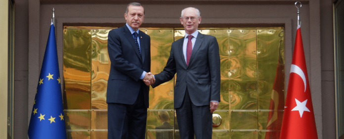 Erdogan und Rompuy