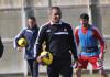 Sivasspor Trainer Roberto Carlos im Training mit seiner Mannschaft - cihan