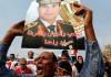 Sisi-Anhänger demonstrieren in Kairo für den Militärchef .