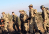 Türkische Soldaten an der syrischen Grenze - iha