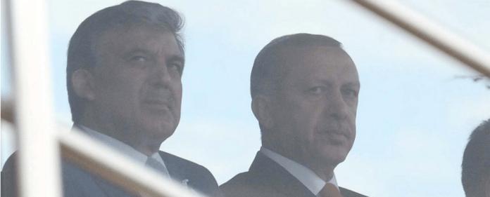 Der türkische Staatspräsident Gül und der türkische Premier Erdogan.