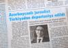 Mahir Zeynalov in der aserbaidschanischen Presse