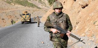 Die türkischen Streitkräfte haben unter der Woche einen Fahrzeugkonvoi der Organisation Islamischer Staat im Irak und der Levante in Syrien angegriffen.