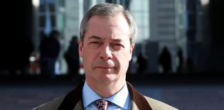 UKIP Parteichef Nigel Farage