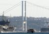 US Kriegsschiff am Bosphorus.