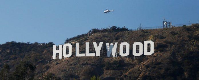 Das Hollywood-Symbol in Los Angeles.
