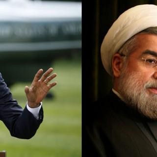 Obama und Rohani