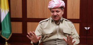 Massoud Barzani, Präsident der Regionalregierung Kurdistans.