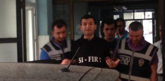 verhafteter türkischer Polizist