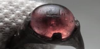 In Schweden ist ein Wikinger ring mit muslimischer Inschrift gefunden worden.