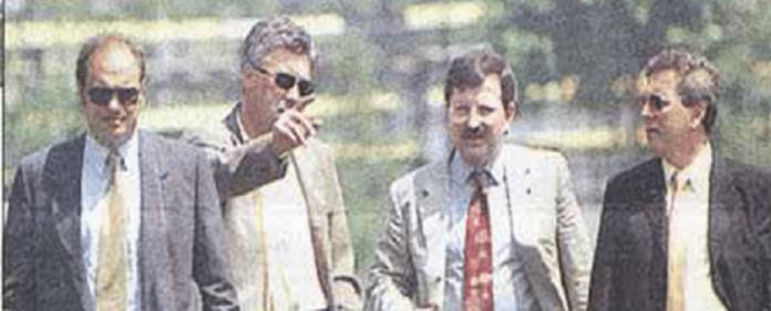 Ancelotti mit Fenerbahce-Präsident Aziz Yildirim