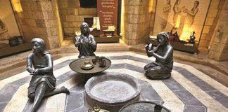 In Gaziantep wird ein Hamam in ein Museum umgebaut.