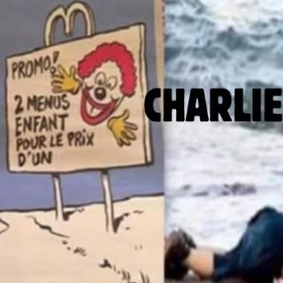 Charlie Hebdo - Aylan Kurdi