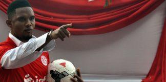 Samuel Eto'o von Antalyaspor.