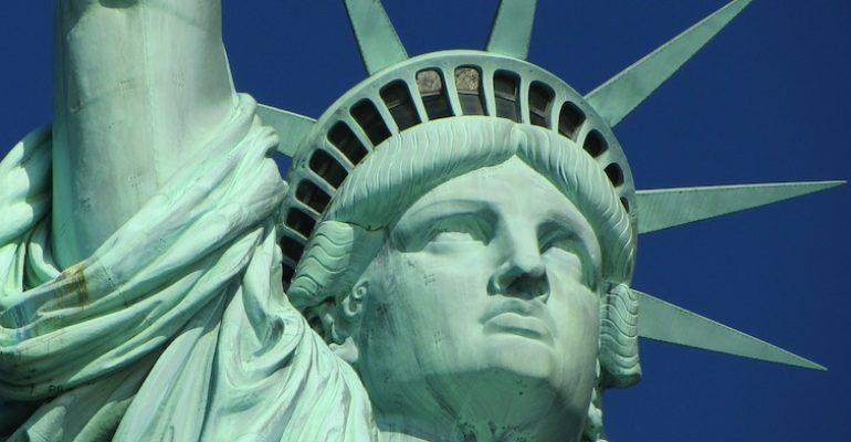 Die Freiheitsstatue war ursprünglich eine muslimische Frau