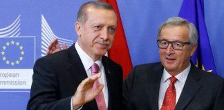 Recep Tayyip Erdoğan und Jean-Claude Juncker todesstrafe