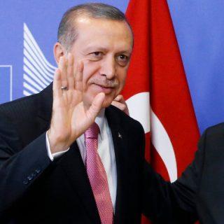 Recep Tayyip Erdoğan und Jean-Claude Juncker