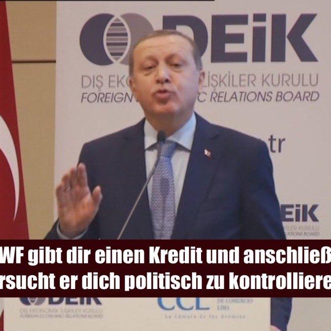 Erdoğan kritisiert IWF während Südamerika-Reise - deutsche Untertitel