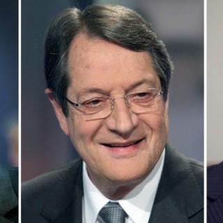 Alexis Tsipras, Nikos Anastasiades und Benjamin Netanjahu