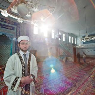 Imam in einer Nürnberger Moschee