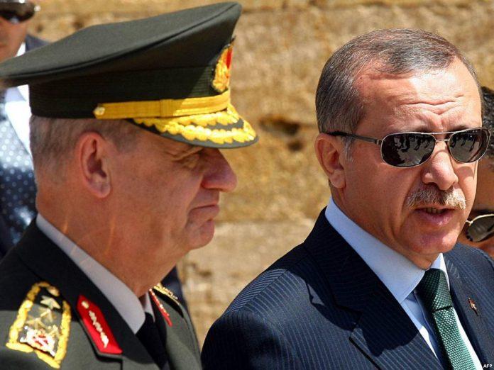Ilker Basbug und Recep Tayyip Erdogan