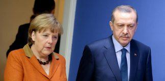 Bundeslanzlerin Angela Merkel und der türkische Staatspräsident Recep Tayyip Erdoğan